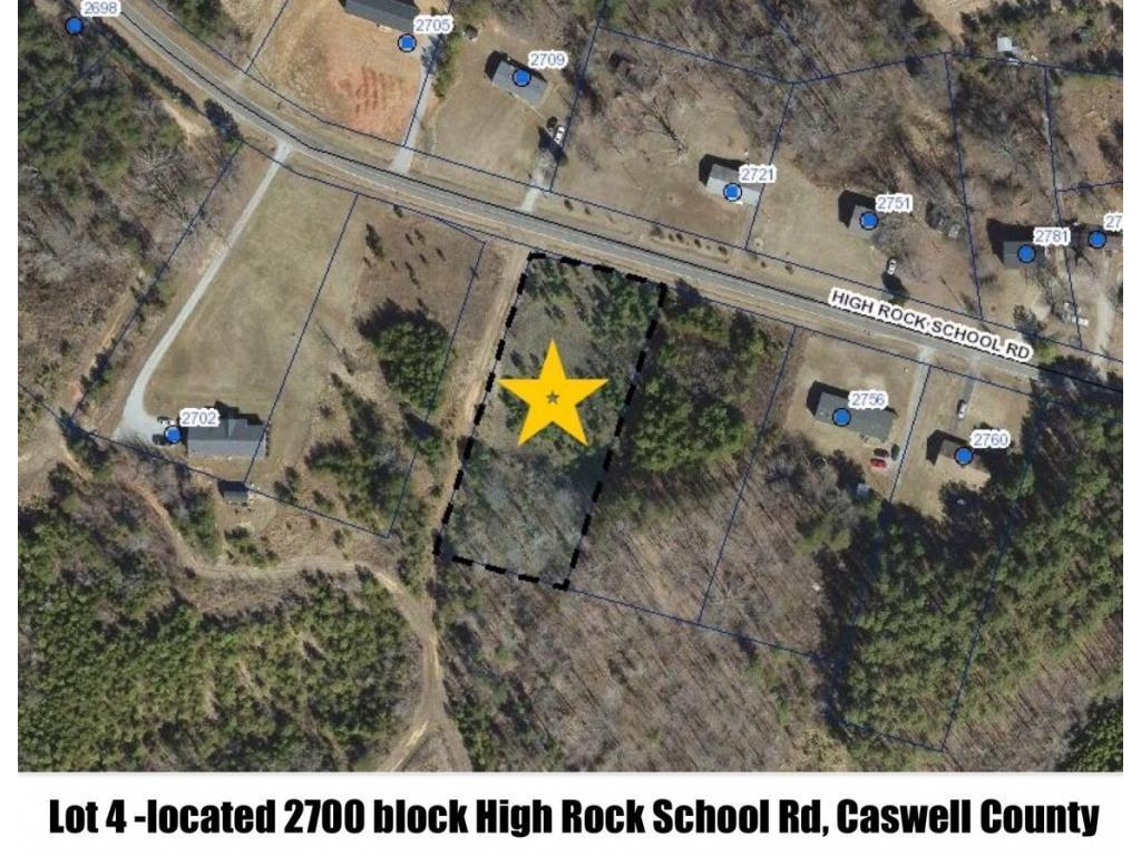 Photo of home for sale at 0 High Rock School Rd, Blanch NC